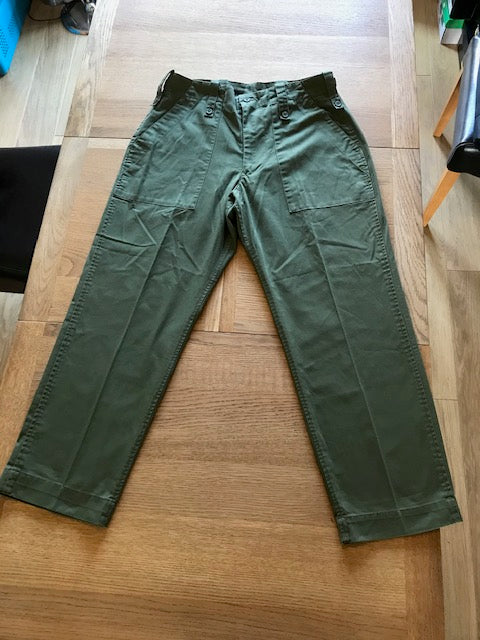Fatigue Combat Trousers Olive Green