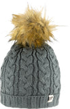Jack Pyke Ladies Cable Knit Bob Hat