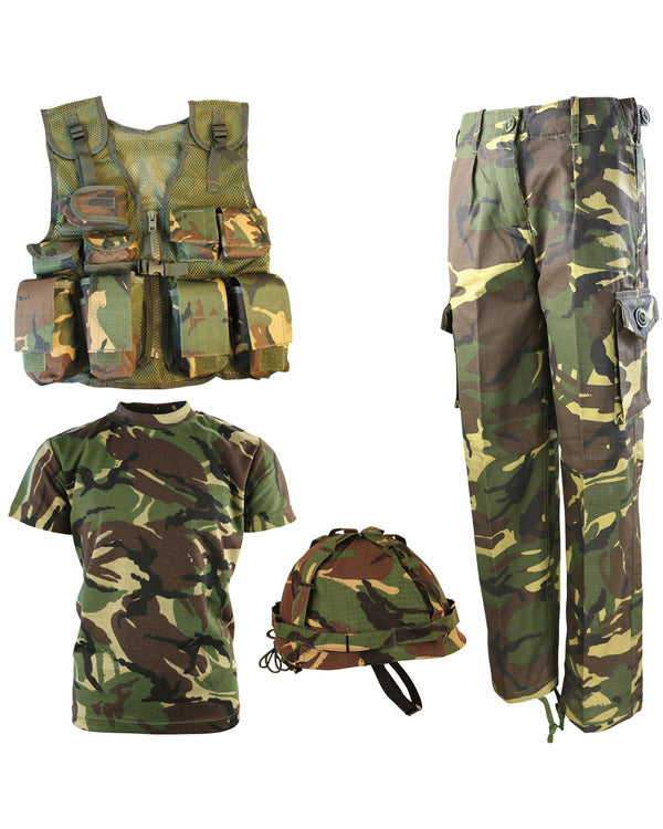 Kids Number 1 Army Combo Set