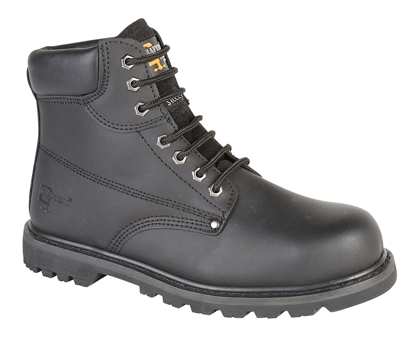 Crazy Horse Leather Safety Boot