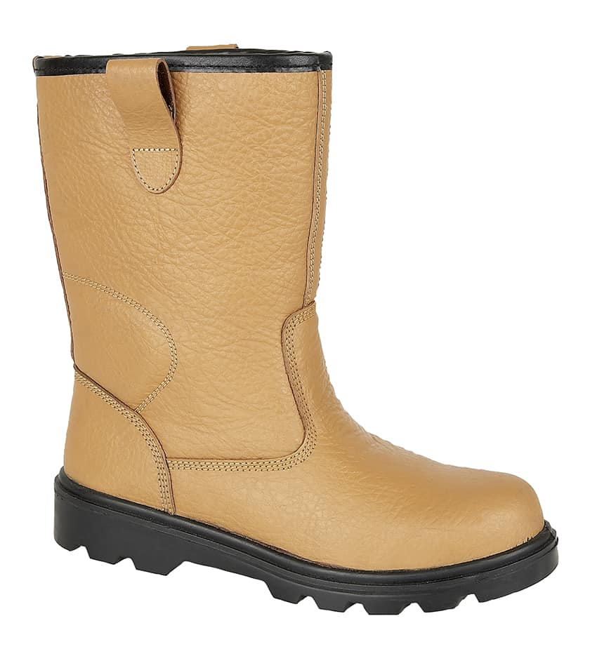Grafters M020BSM - Tan Leather Rigger Boots