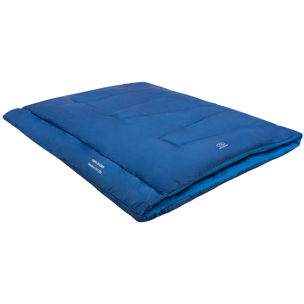 Sleepline Double Sleeping Bag Royal Royal Blue