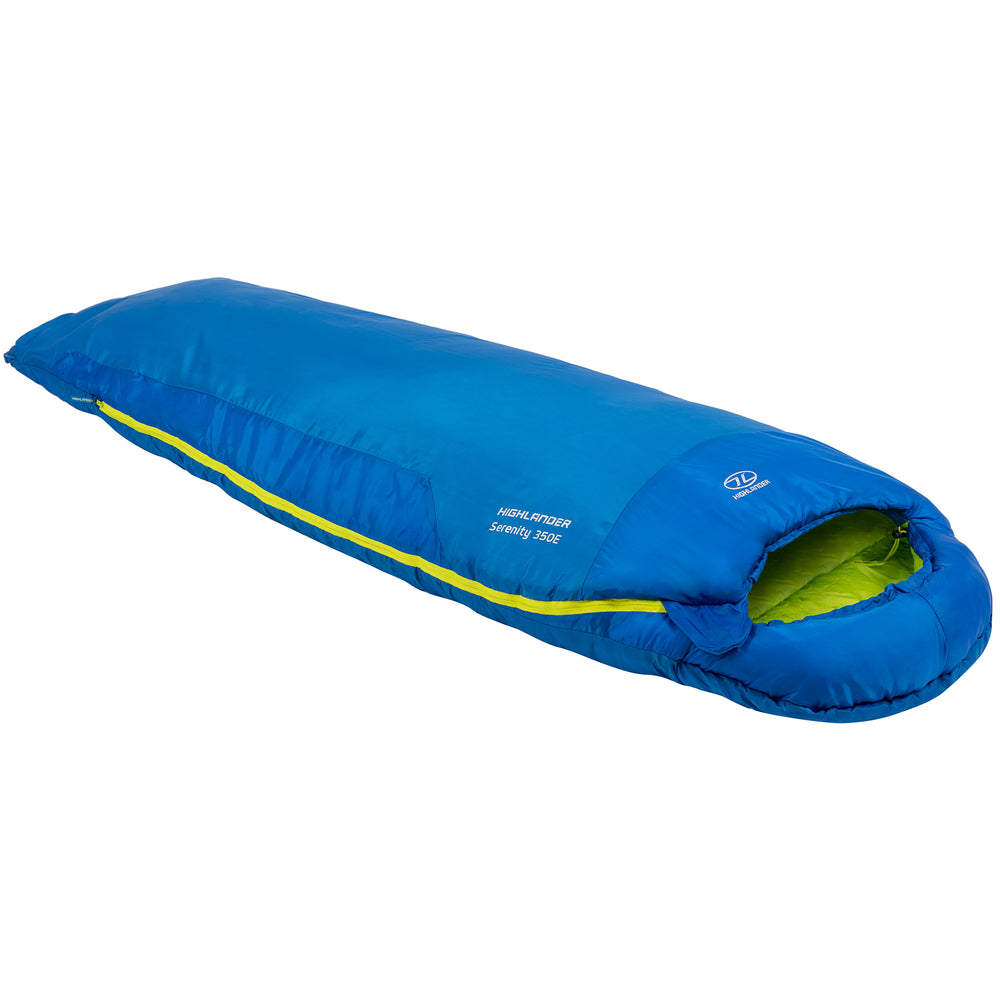 Serenity 350 Envelope Sleeping Bag, Blue