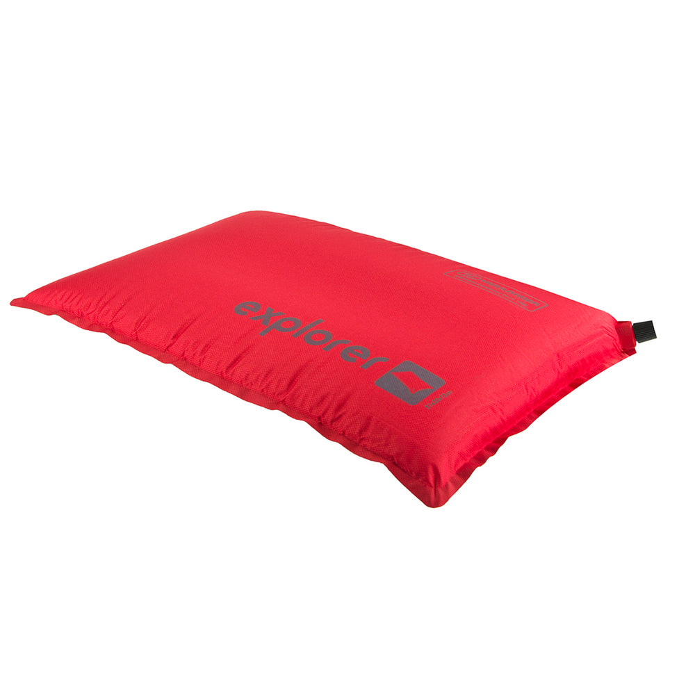 Explorer Self Inflate Pillow Red