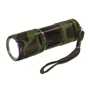 Cobra Red Led Hand Torch - Camo