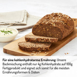 BIO Lower Carb Brot Backmischung - 1500g