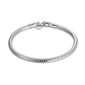 Silver Sleek New York Bracelet - www-mallwala-com