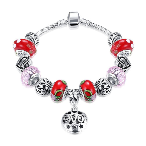Red Sweet Candy Can Pandora Inspired Bracelet - www-mallwala-com