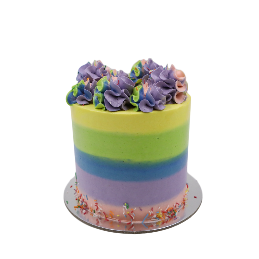 Rainbow's & Sprinkles Party Cake