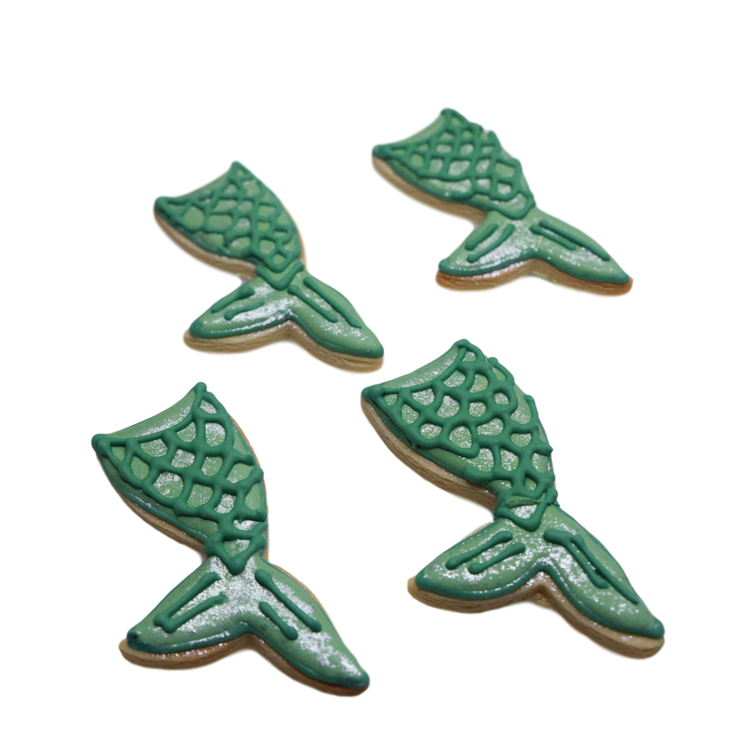 Mermaid Tail Cookie
