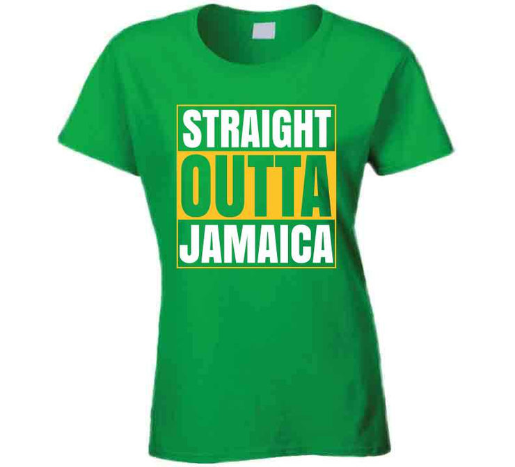 Straight Outta Jamaica T Shirt