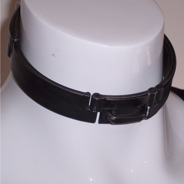 Brushed Black Aluminum Slave collar, image 2