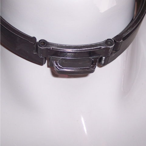 Brushed Black Aluminum Slave collar, image 1