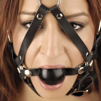 Ball Gag Head Harness