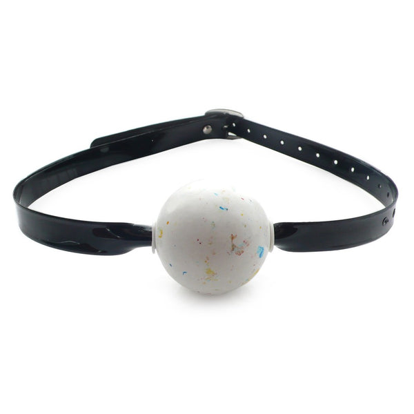 Black Jawbreaker Ball Gag