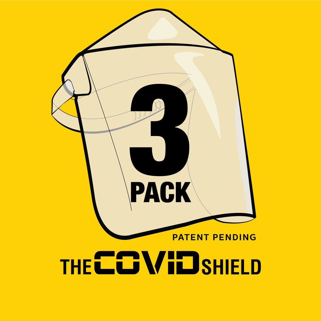 3 Pack Covid Shields