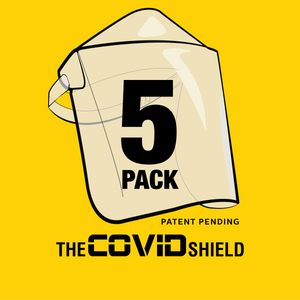 5 Pack Covid Shields