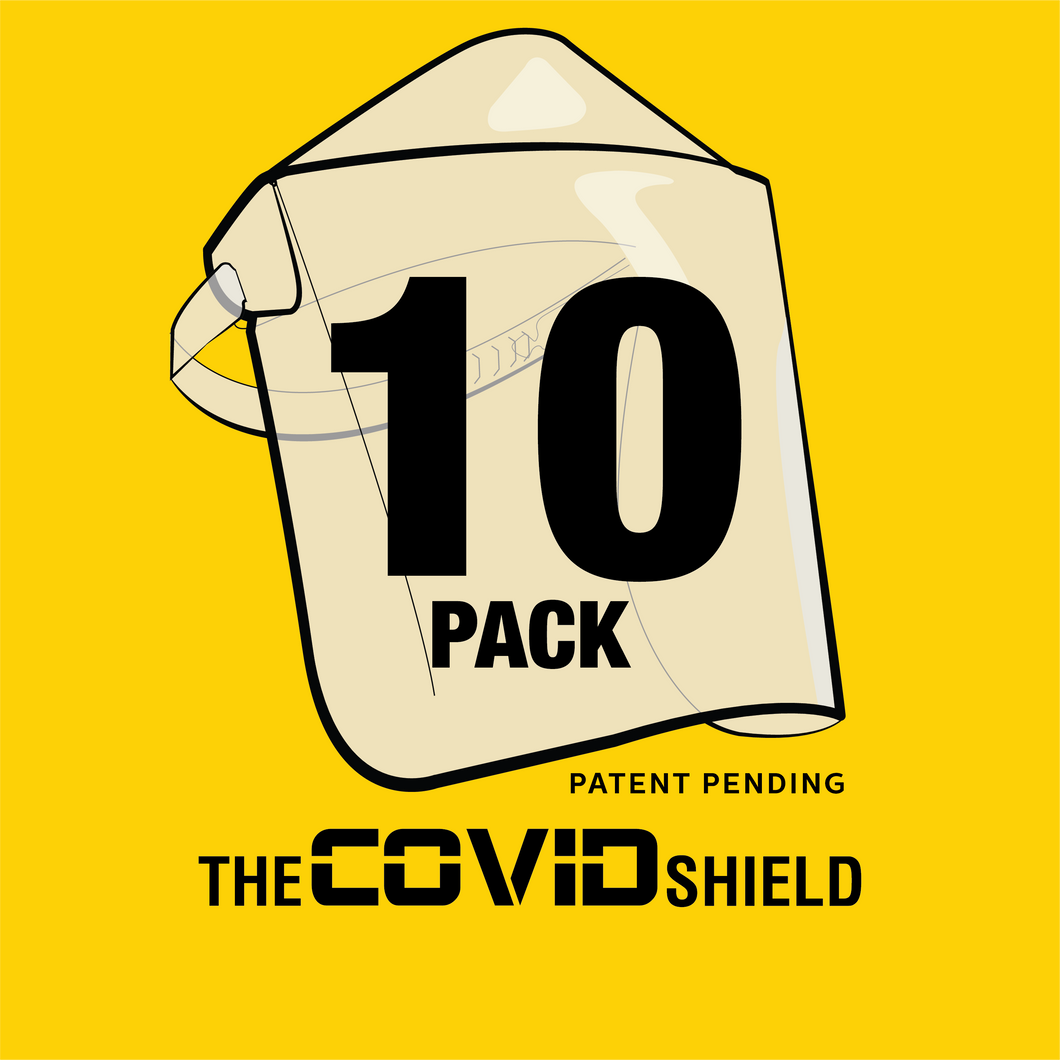 10 Pack Covid Shields