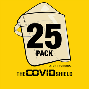 25 Pack Covid Shields