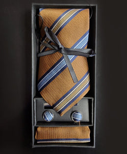 Tie-Tie Clip and Cufflink Combo by: SamWell