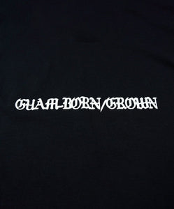 GACHA Guam-Born/Grown Tshirt (Black)