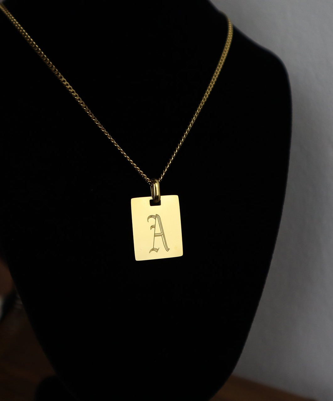 18k Gold Plate Necklace: A