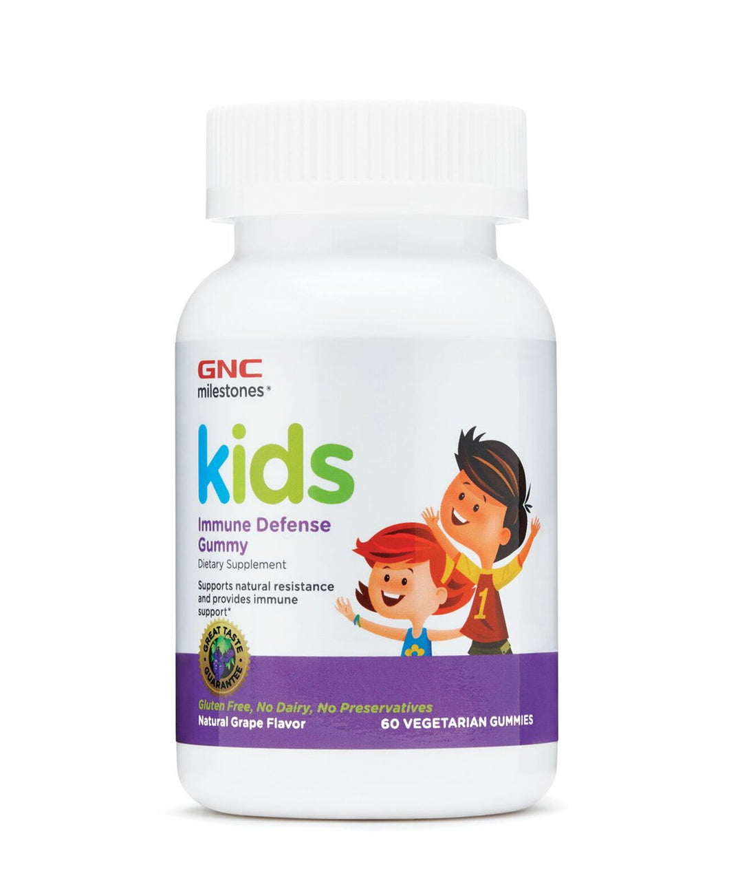 GNC Milestones Kids Immune Defense Gummy (Grape)