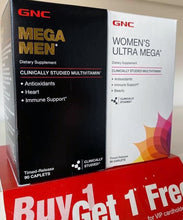 Load image into Gallery viewer, GNC Mega Ultra Mega BOGO Set