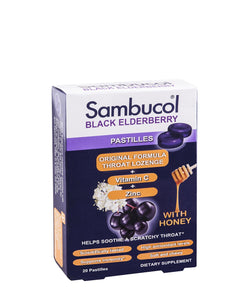 Sambucol Black Elderberry Pastilles
