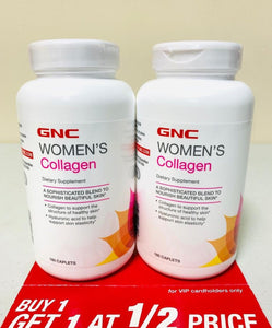 GNC Women's Collagen BOGO 50% Off