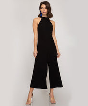 Load image into Gallery viewer, Halter Cropped Jumpsuit