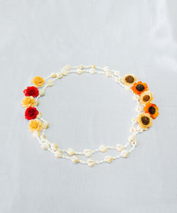 Face to Face Shell Lei Necklace