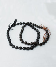 Load image into Gallery viewer, Kukui Nut Lei Necklace (Black or Brown)