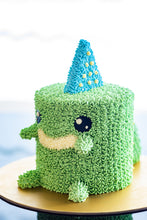 Load image into Gallery viewer, Alexsaurus - Mini Dinosaur Cake (Not available for Next-Day Orders)