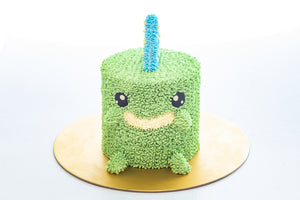 Alexsaurus - Mini Dinosaur Cake (Not available for Next-Day Orders)