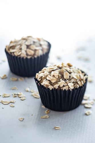 Isabella - Baby-friendly Oatmeal Banana Maple Muffins (No refined sugar added)