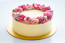Load image into Gallery viewer, Pretty in Pink Floral Cake