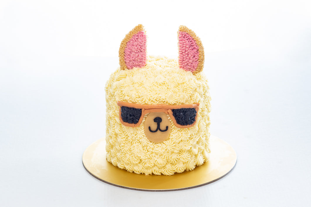 Ryan - Mini Llama Cake (Not available for Next-Day Orders)