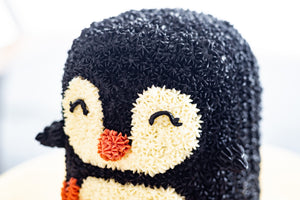 Claire - Mini Penguin Cake (NOT AVAILABLE FOR NEXT-DAY ORDERS)