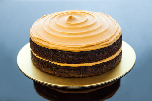 Sally Cake - Peanut Butter and Dark Chocolate Cake
