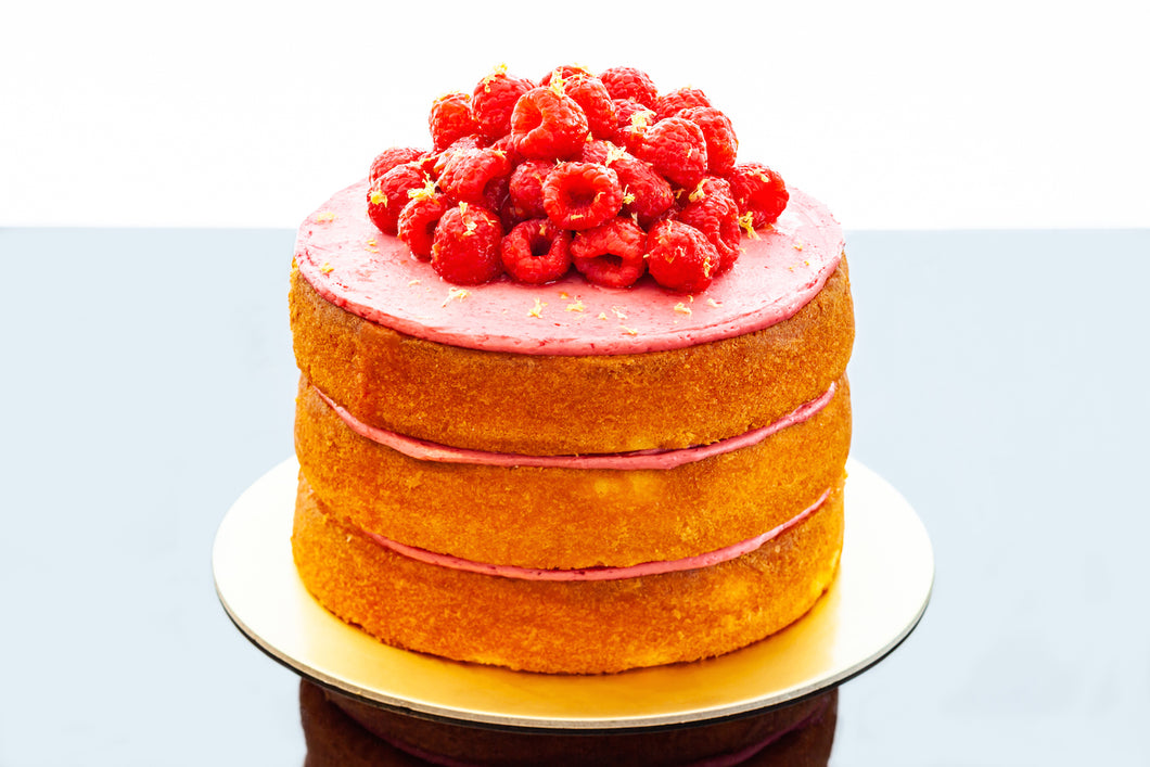 Thea - Raspberry & Lemon Cake