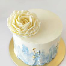 Load image into Gallery viewer, Handpainted 4-inch Mini Cake with Real Gold Accents (Not available for Next-Day Orders)