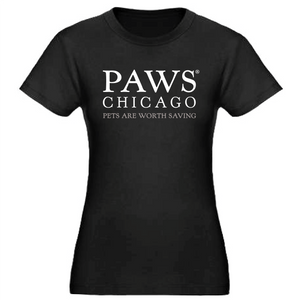 PAWS Women's Fitted Short Sleeve T-Shirt