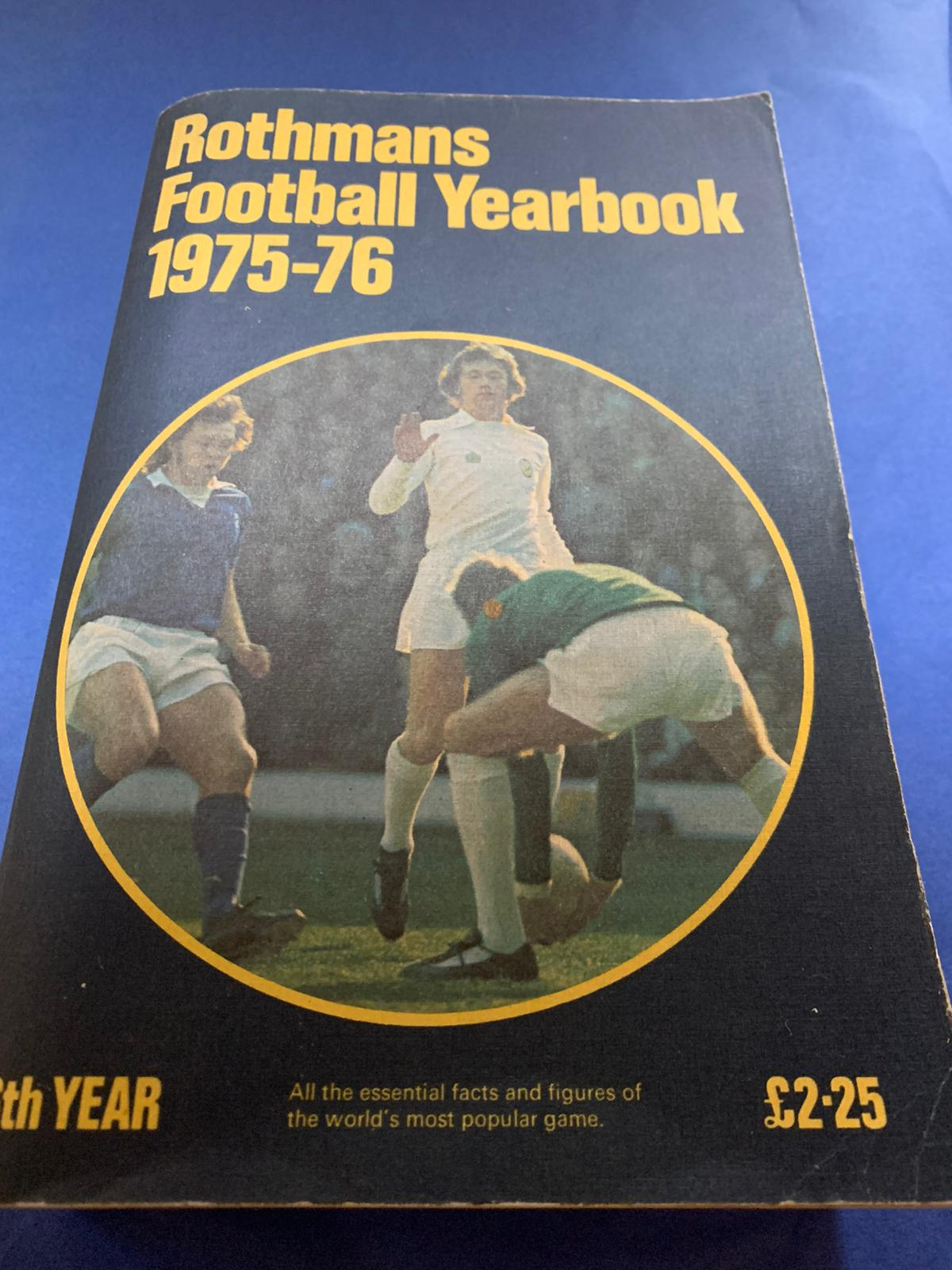 Rothmans Football Yearbook 1975-76