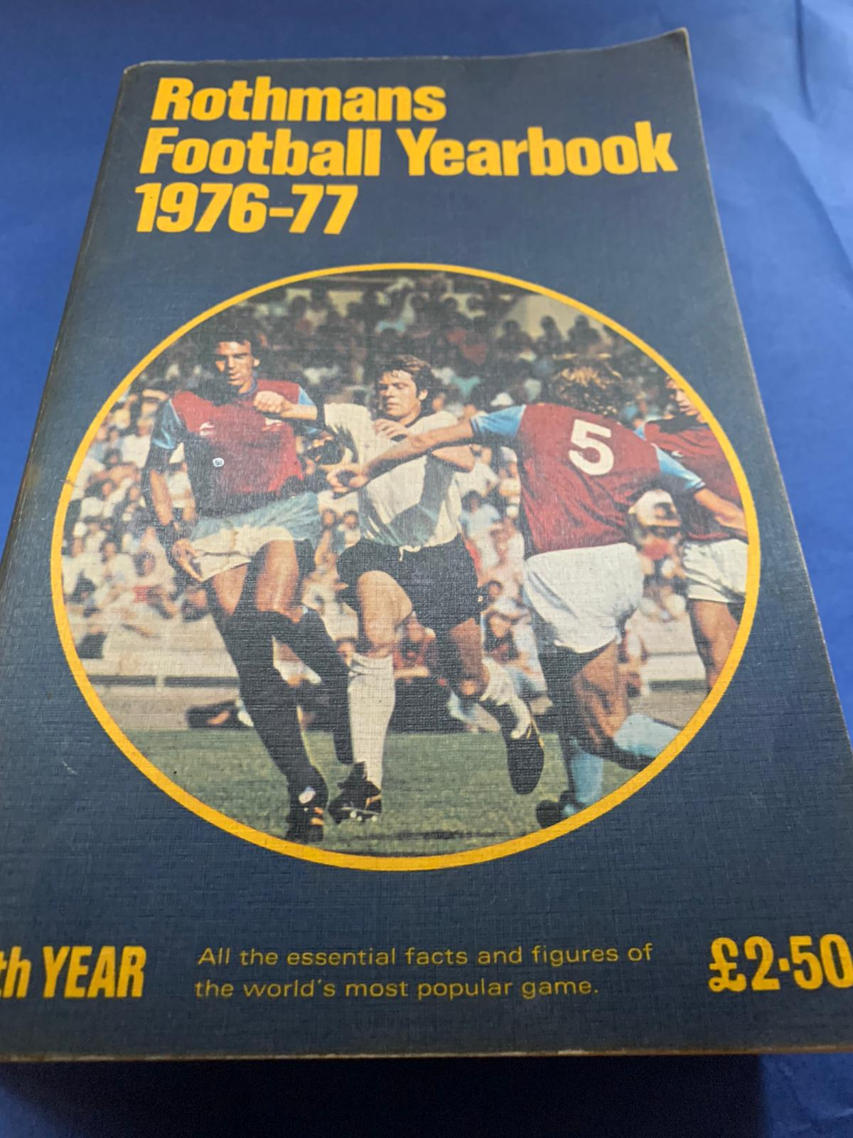 Rothmans Football Yearbook 1976-77