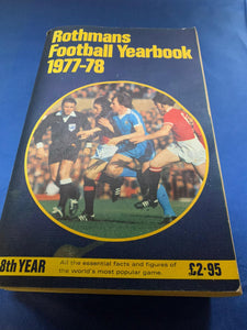 Rothmans Football Yearbook 1977-78