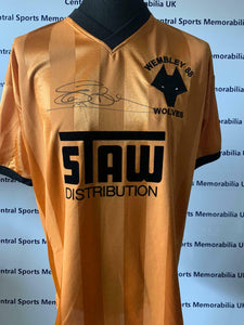 Steve Bull Signed Replica Wolves Shirt ~ Free UK shipping