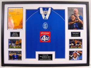 """Darren Carter For the Premiership"" Frame (Birmingham City)"