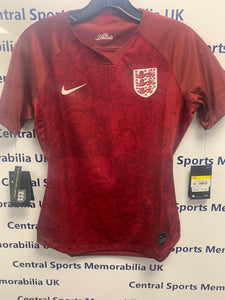 England Ladies Replica Football Shirt Size 10 (S) BNWT