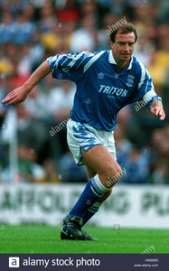 John Frain Match Worn Birmingham City Shirt 1993-1994